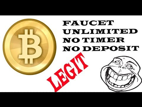 NEW BITCOIN FAUCET UNLIMITED CLAIMS/ NO TIMER - YouTube
