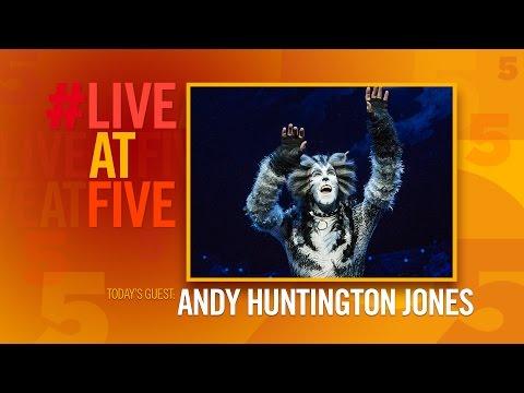 Broadway.com #LiveatFive With Andy Huntington Jones Of CATS