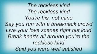 Watch Richard Thompson Reckless Kind video