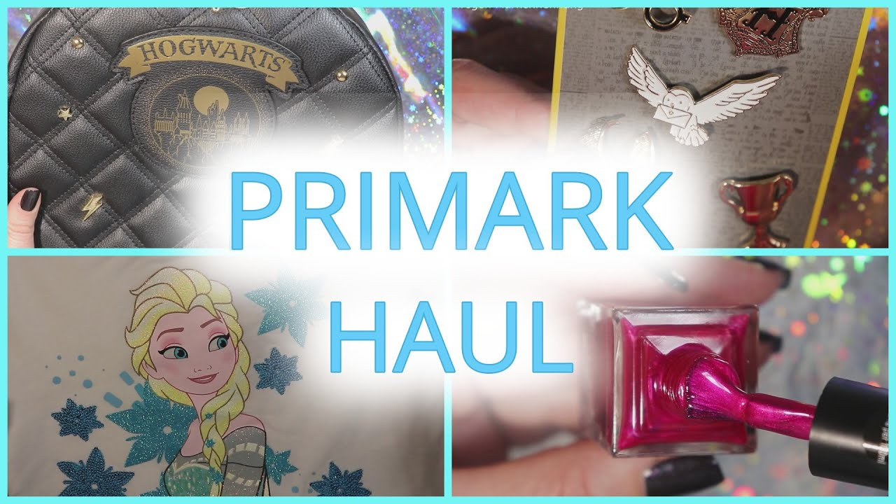 Primark Haul Harry Potter Disney Frozen - Einfach Perfekt, Unperfekt