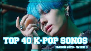 Baixar (TOP 40) K-Ville Staff's K-pop Songs Chart - March 2020 (Week 3)
