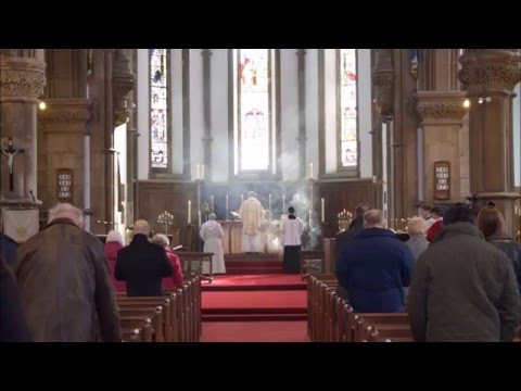 Easter Vigil Mass with Exsultet and Merbecke Gloria - St Lawrence York