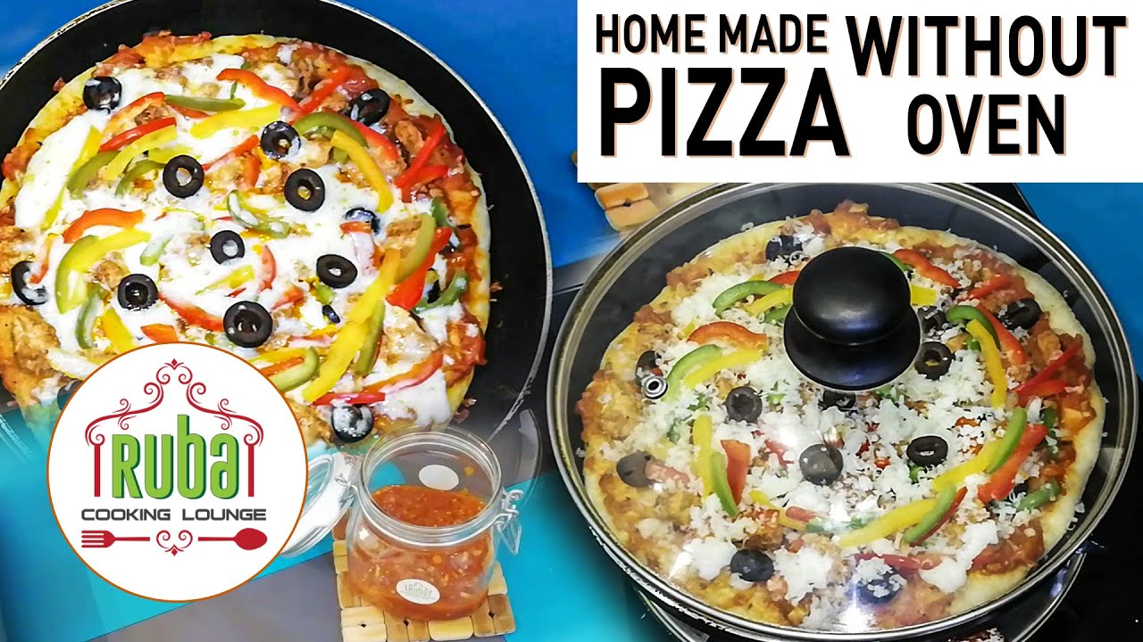 Pizza Without Oven| Homemade Pizza