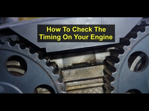 How to check the Timing, Alignment Check, on your car or truck. - Auto Repair Series