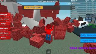 Let's play Roblox Thanos is Eating Everything