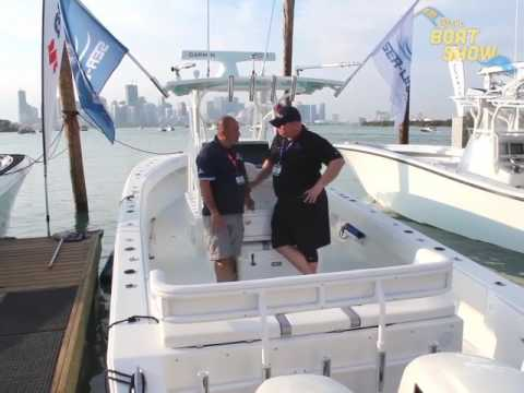 Sea-Lion Boats At The 2017 Miami International Boat Show