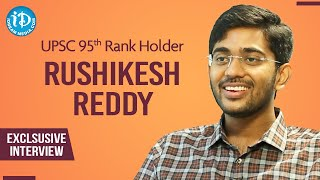 UPSC 95th Rank Holder Rushikesh Reddy Exclusive Interview | Dil Se With Anjali #226 | iDream Movies