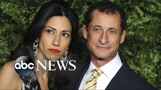 Huma Abedin Splits With Anthony Weiner Following Another Sexting Scandal