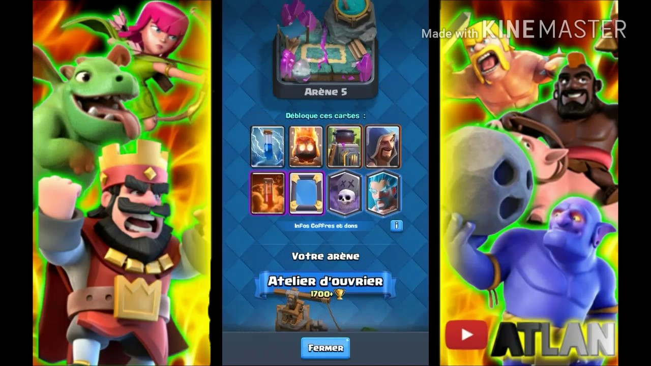 Le meilleur deck ar ne 6 youtube for Deck arene 6 miroir