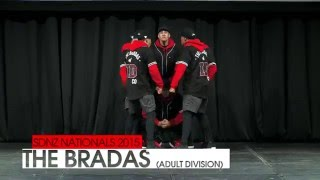 The Bradas @ SDNZ National Dance Championships 2015