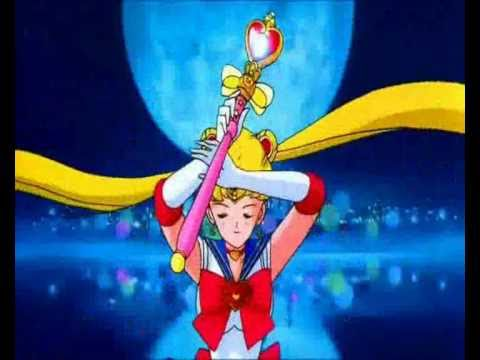 Sailor Moon - 2 in 1: Moon Spiral Heart Attack & Rainbow Moon Heart Ache