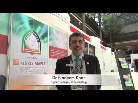 Interview with Dr Nadeem Khan - Higher Colleges of Technology, Abu Dhabi