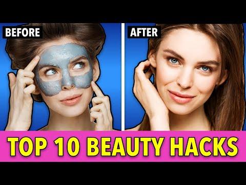 Top 10 beauty hacks for beautiful skin