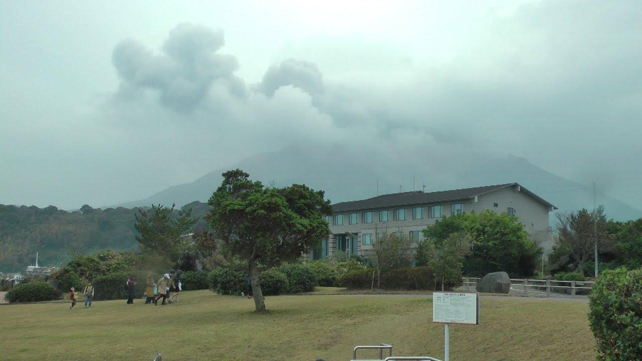 2018日本九州‧鹿兒島之櫻島活火山 - YouTube