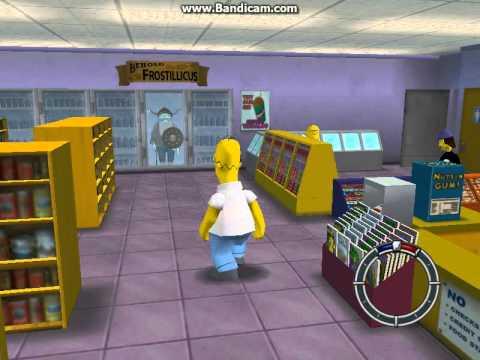 Симпсоны- Обзор игры №1