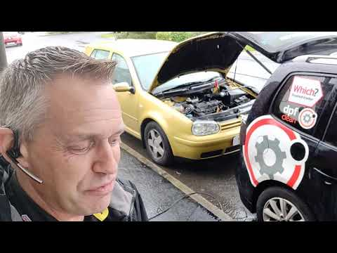 Diagnostic consultation and Engine Carbon Clean on a VW Golf 1.9 TDI (2000 - 158,742 miles)