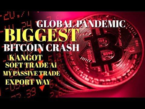 BIGGEST #Bitcoin Crash -#bitcoin Platforms #kangot #mypassivetrade #exportway #softtradeai #hyip
