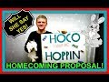 HOMECOMING PROPOSAL!   WILL SHE SAY YES?