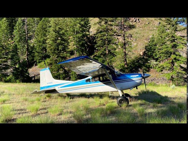 Soldier Bar Idaho Backcountry Cessna 185