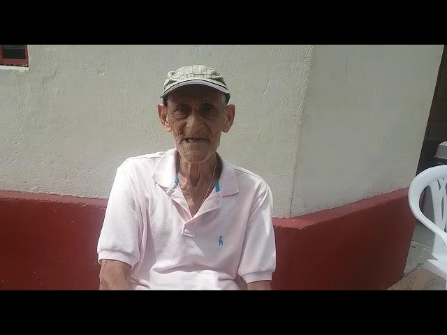 Víctor Quintero, anciano que lleva 18 años en el Asilo