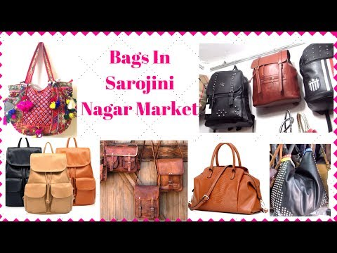 Top Places To Shop For Bags In Sarojini Nagar I Simi Bella