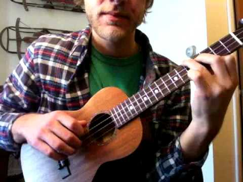 Ukulele Fingerpicking Lesson How To Play Hallelujah Youtube