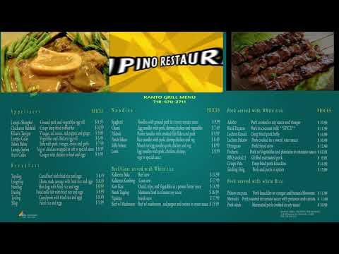 Restaurant TV menu Sesvices  (Marketing by Addsfly Media) New York +1 929 344 9485