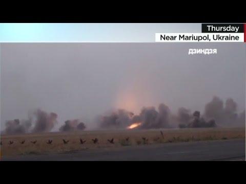 Fighting in Ukraine before ceasefire