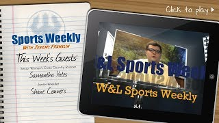W&L Sports Weekly for November 14, 2018