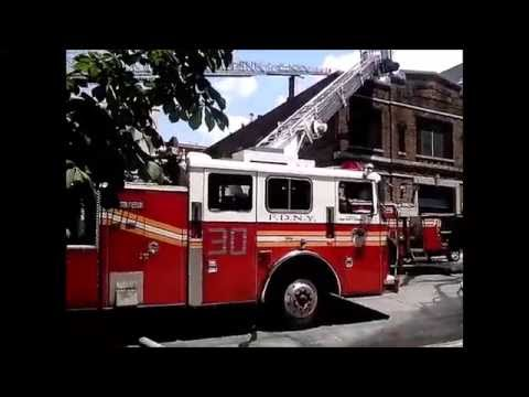 FDNY on scene of a 10-75 fire at a factory