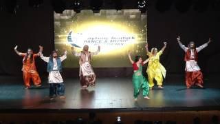 Aytunç Bentürk D.A yıl sonu gösterileri 2017 Bollywood Show 2 Tülin Hançer Team