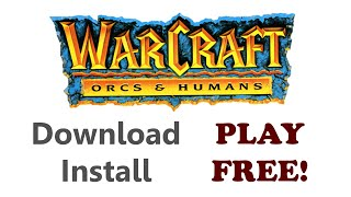 Warcraft 1 Free Download and Install Windows 10 (Classic)