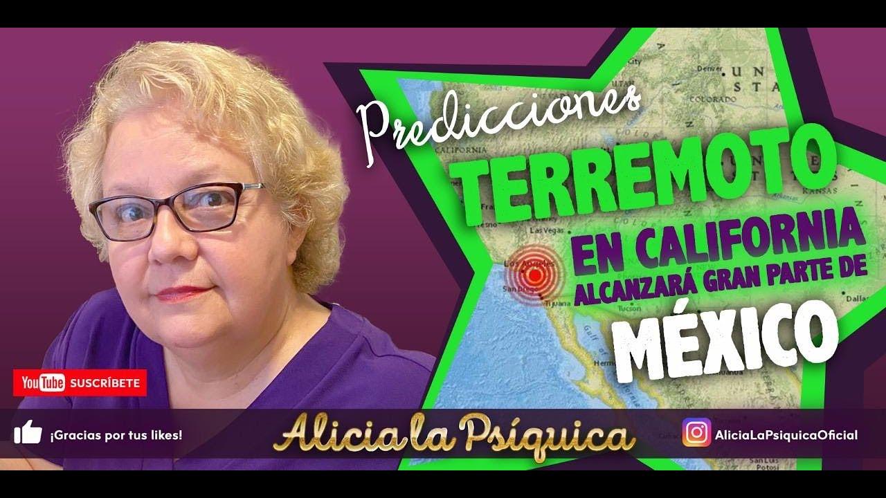 PREDICCIONES: TERREMOTO EN CALIFORNIA ALCANZARA GRAN PARTE DE MEXICO!
