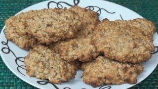 Honey Banana Oatmeal Cookie Recipe