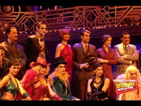 Cabaret El Musical - presentación (Teatro Rialto) - YouTube