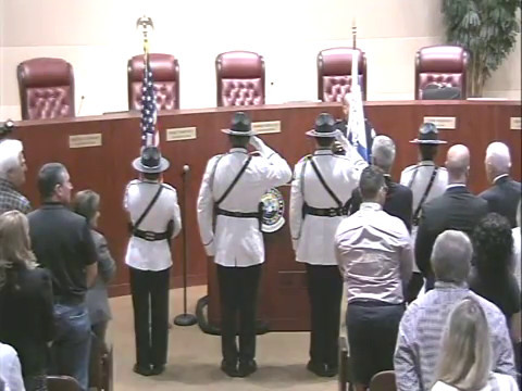 New Aventura Police Chief Bryan Pegues Ceremony