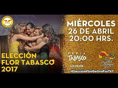 Elección Flor Tabasco 2017