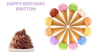 Britton   Ice Cream & Helado