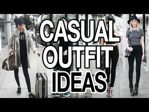 CASUAL OUTFIT IDEAS! LOOK CUTE WHEN YOU'RE LAZY!