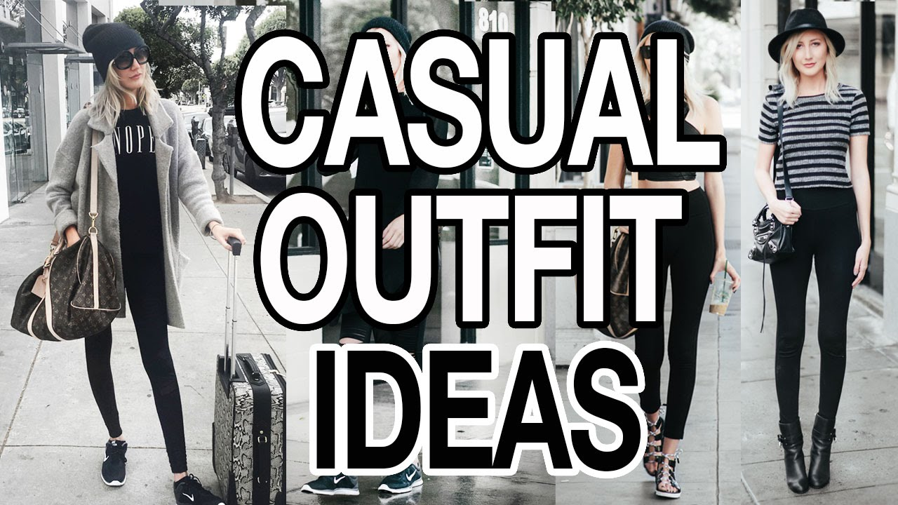 58a12eefb CASUAL OUTFIT IDEAS! LOOK CUTE WHEN YOU RE LAZY! - YouTube