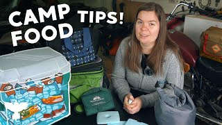 Moto Camping Food Tips! F๐il Pack Meals 101 & More