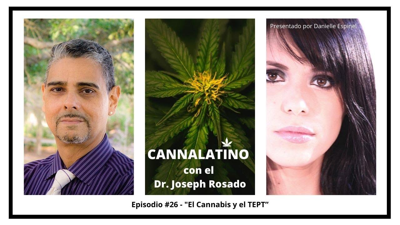 """Cannalatino con el Dr Joseph Rosado """"El Cannabis y El TEPT"""""""