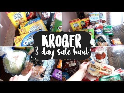 kroger-3-day-sale-haul-|-grocery-haul-2019