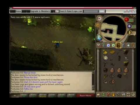 How to get free exp lamps and 10k on runescape
