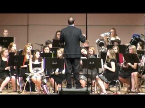 Hahira Middle School Concert Band Performance - March 16, 2012