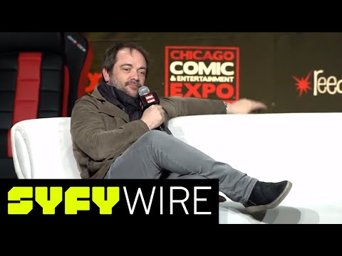 Mark Sheppard Full Panel  C2E2  SYFY WIRE