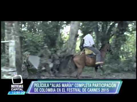 """Película alias """"María"""" completa participación de Colombia en el Festival de Cannes 2015"""