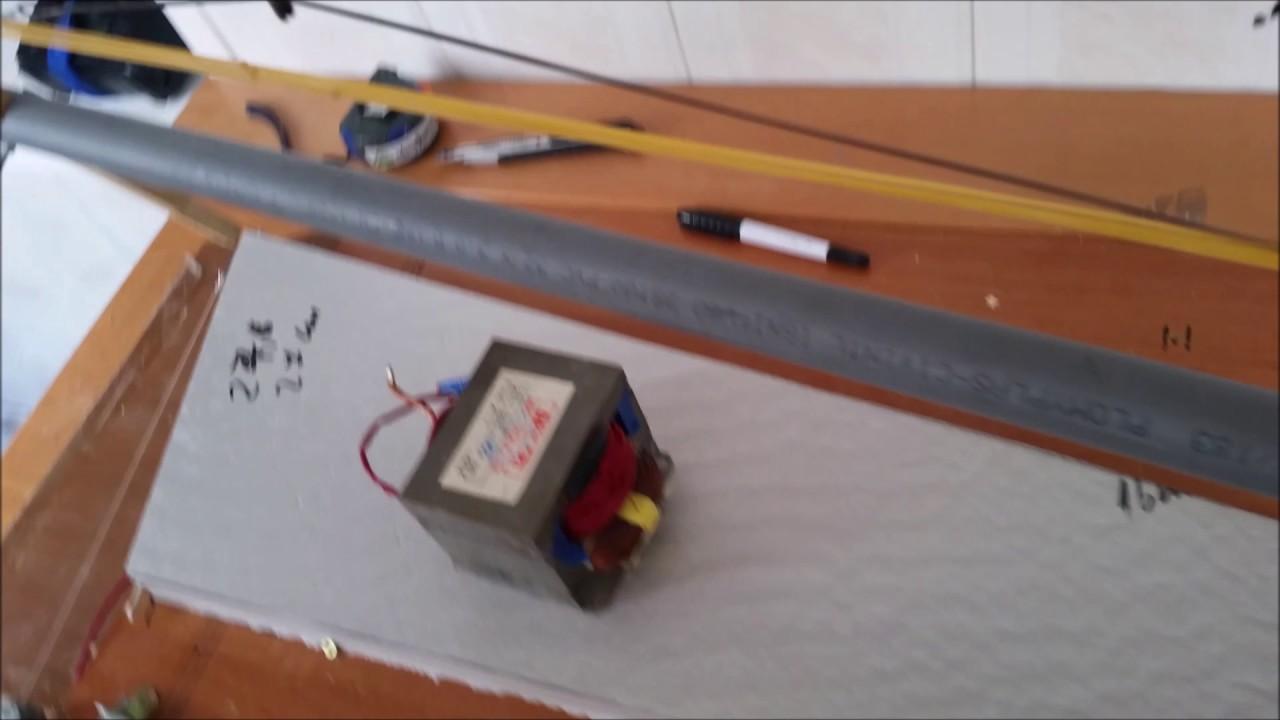 DIY Zagi Haw To :2 Hot Wire Foam Cutter - YouTube
