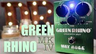 Way Huge Green Rhino Overdrive MKIV - Demo & Playthrough