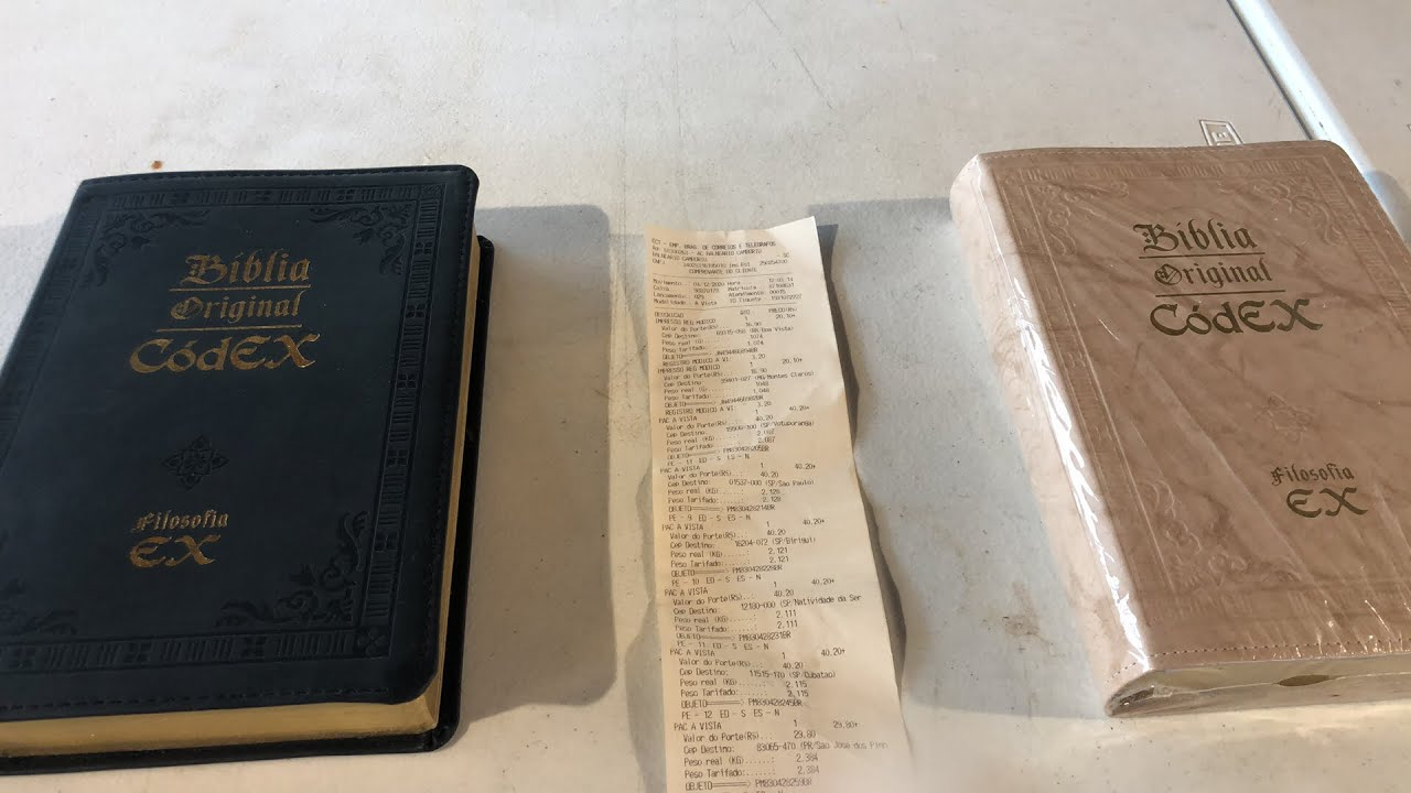 BÍBLIA ORIGINAL CÓDEX 2ª Edição, 1ª Remessa